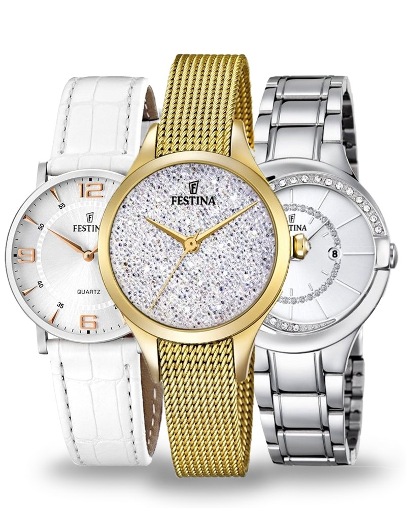 Ceasul pentru femei de la Festina vă va cuceri cu prelucrarea sa elegantă și discretă