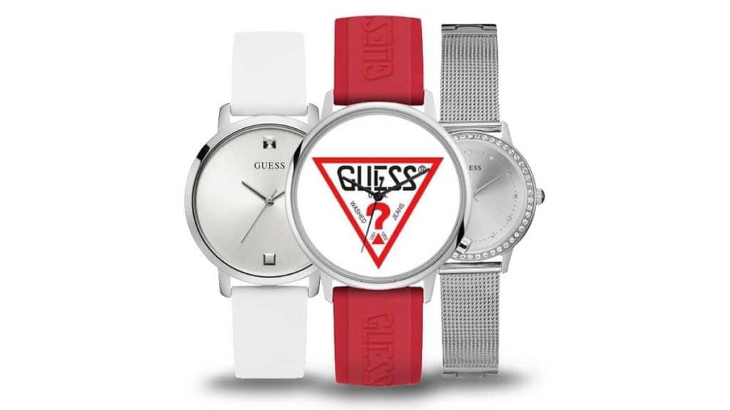 Ceas extravagant damă Guess într-o varietate de stiluri și culori