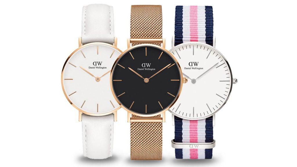Ceasuri damă Daniel Wellington vă va cuceri cu designul său simplu