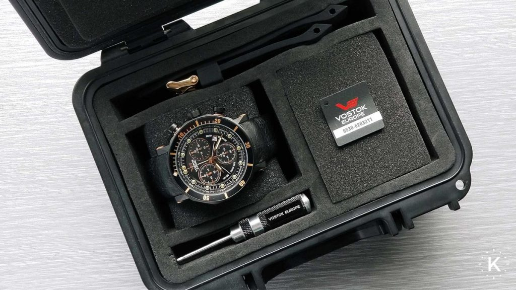 Cutia pentru ceasurile Vostok Europe