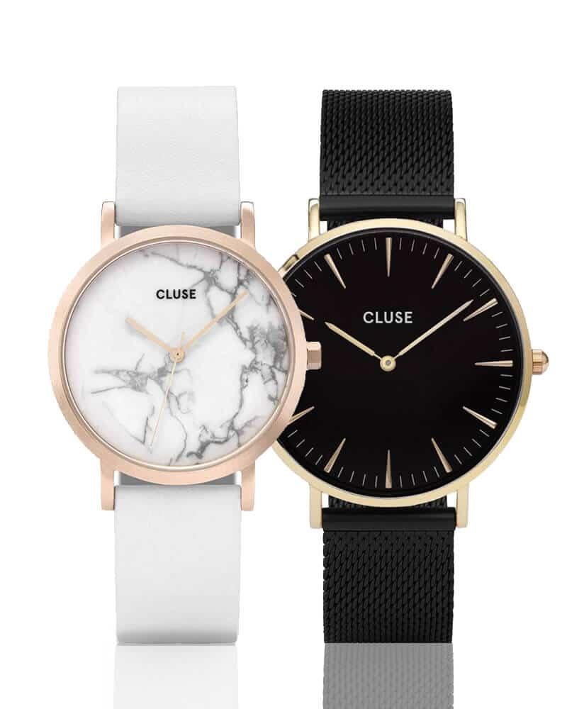 Ceasuri damă Cluse, cunoscut pentru cadranele sale minimaliste