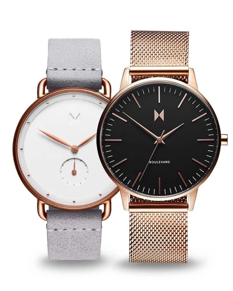 Ceasuri damă MVMT - linii simple și un aspect minimalist