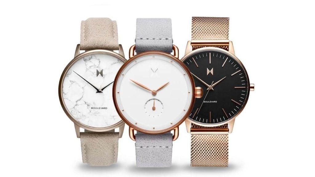 Ceasurile minimaliste de damă - MVMT