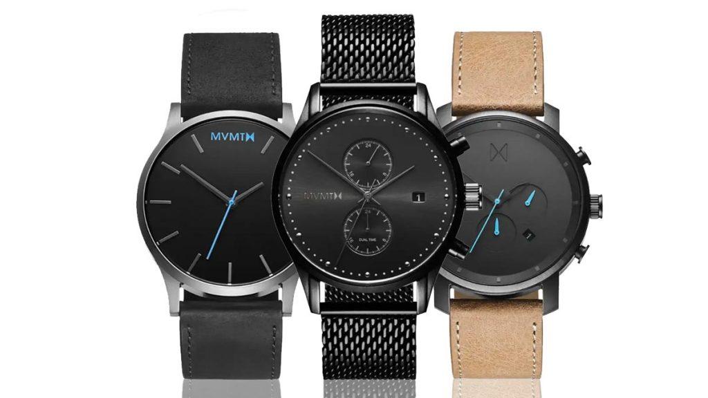 Ceasurile pentru bărbați MVMT vă vor uimi cu prelucrarea lor simplă