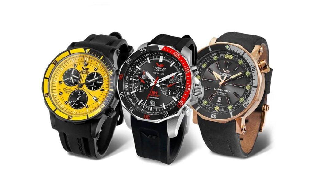 Ceasul bărbătesc Vostok Europe este un model original de ceas bărbătesc cu un cadran mare