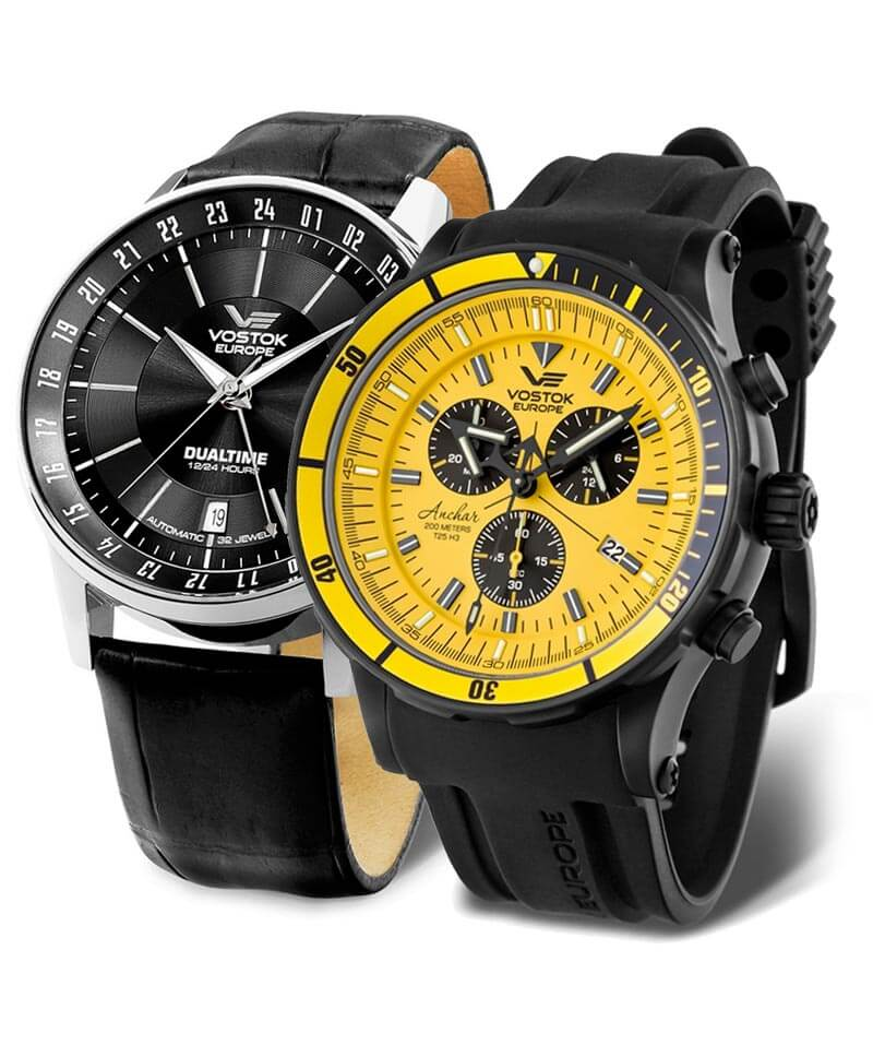 Ceasul bărbătesc Vostok Europe este un ceas masiv și prleucrat calitativ cu originea în Lituania