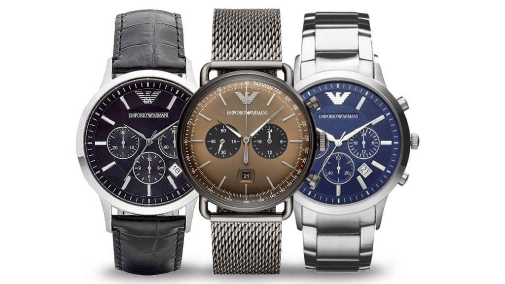 Ceasul pentru bărbați Emporio Armani este un ceas de calitate de la designerul de modă italian Giorgio Armani
