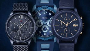 Ceasul albastru pentru domni este o piesă netradițională de ceas