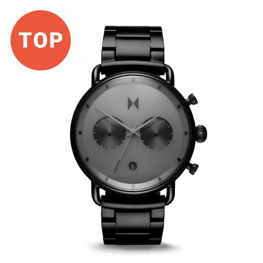 Pánske hodinky MVMT v čiernej farbe