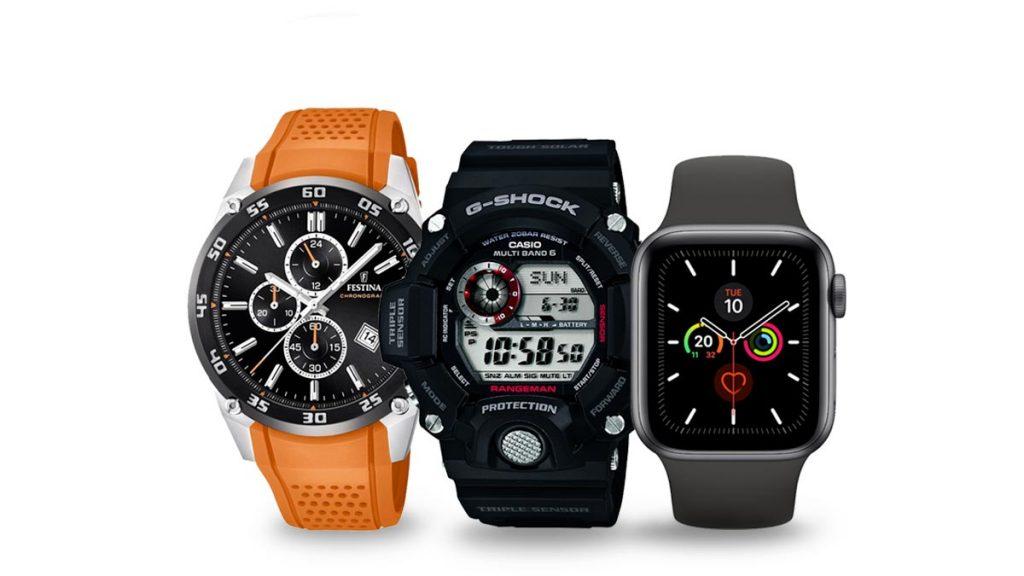 Ceasuri pentru bărbați pentru alergare, drumeții și alte activități sportive