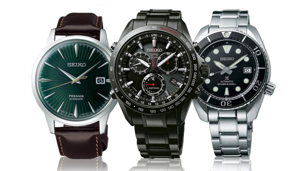 Ceasuri de mână pentru bărbați marca Seiko