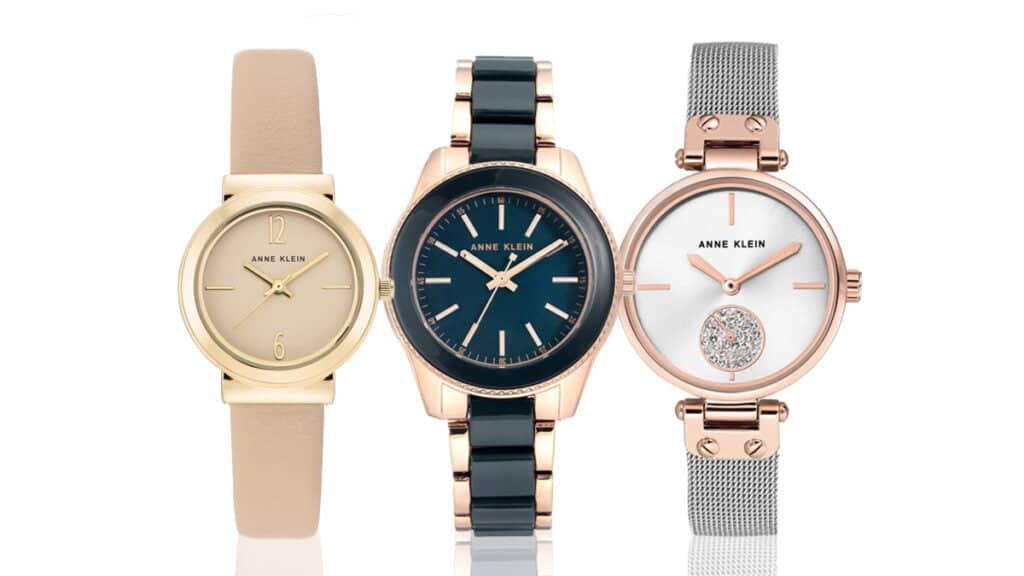 Ceasuri damă Anne Klein sunt cunoscute pentru designul său elegant