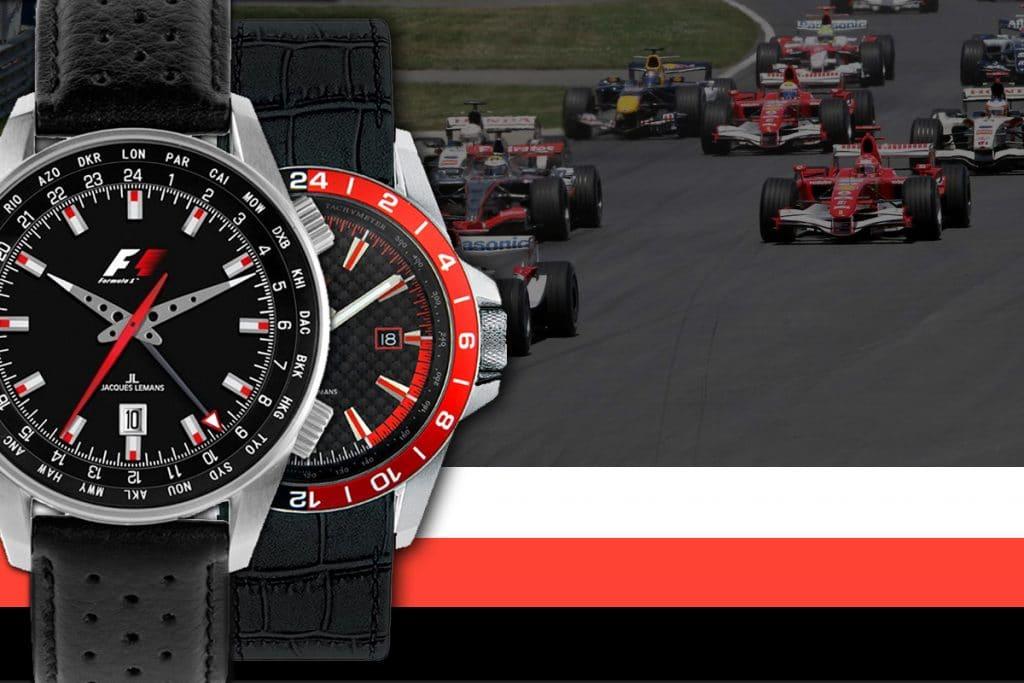 Ceasurile Jacques Lemans au fost partenerul exclusiv al cursei de Formula F1