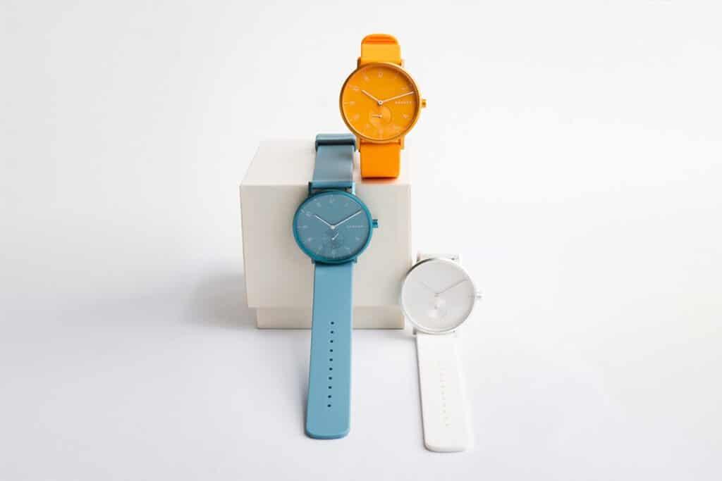 Ceasurile colorate Skagen Aaren Kulor