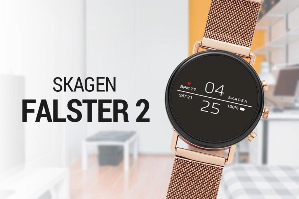 Ceasurile smart moderne de damă Skagen Falster
