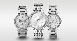 Am selectat cele mai reușite ceasuri argintii pentru femei marca Michael Kors