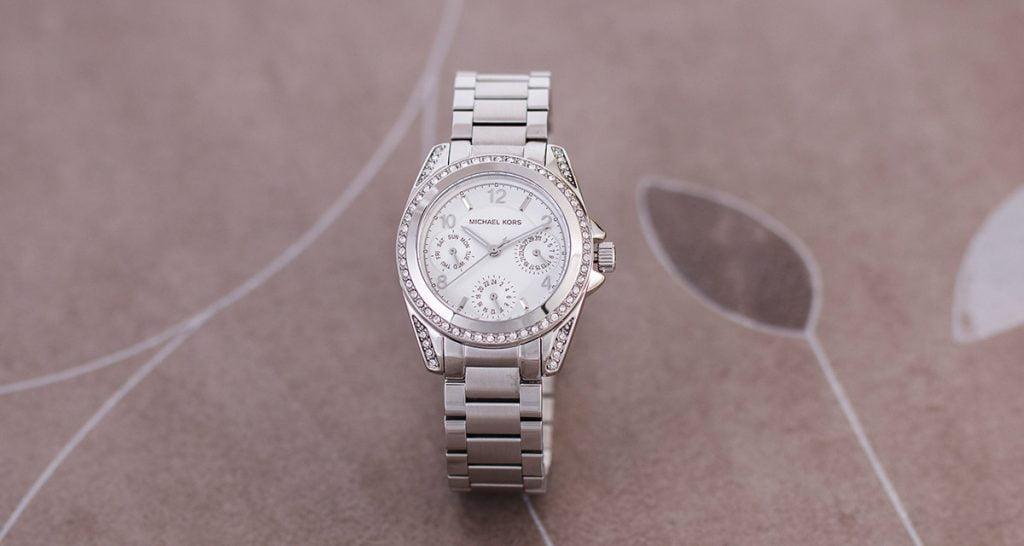 Ceasul de damă Michael Kors cu cristale Swarovski