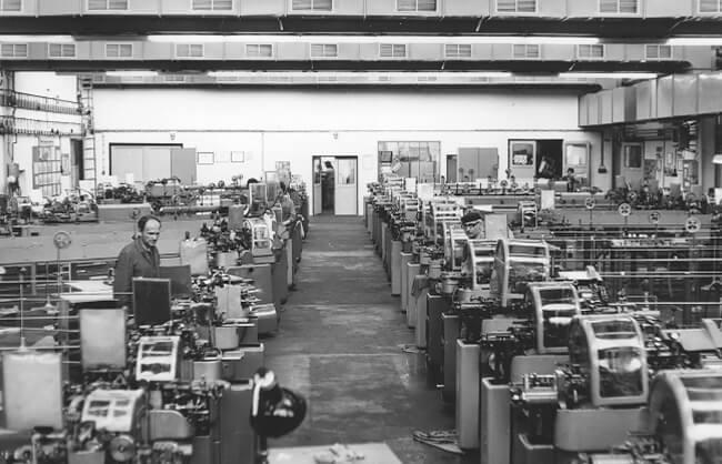 Fabrica de primele ceasuri cehoslovace - Prim