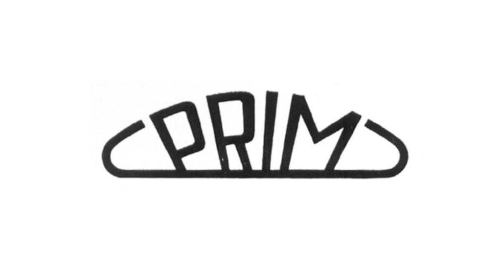 Logo-ul companiei Prim din anul 1956