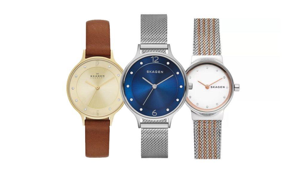 Ceasul de damă Skagen vă va cuceri prin liniile sale minimalistice