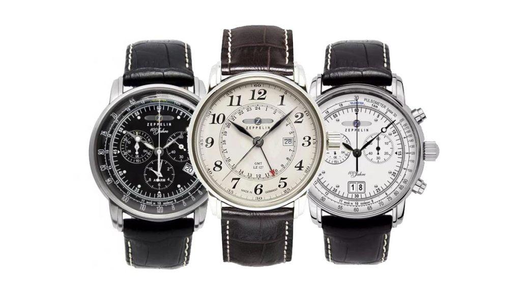 Ceasurile Zeppelin pentru toți iubitorii de istorie și aviație