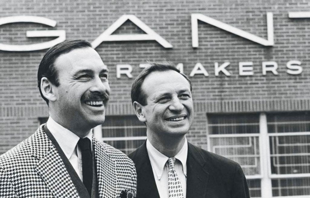 Înființatorii mărcii Gant