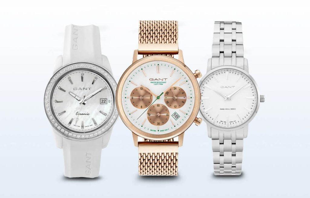 Cele 3 variante de ceasuri de damă Gant