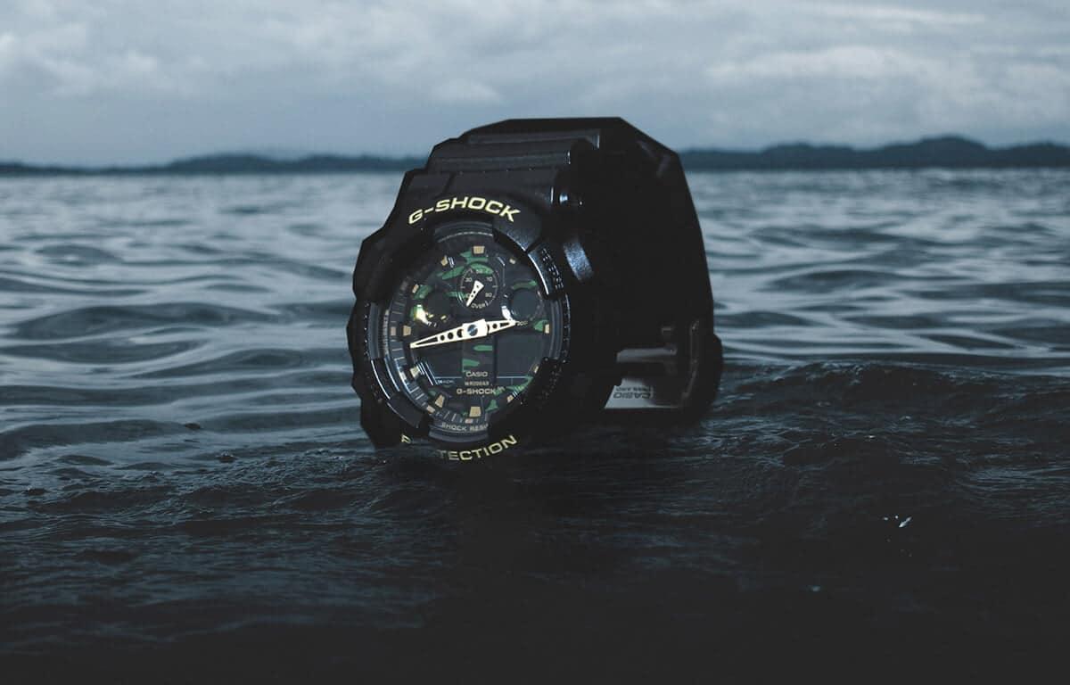 Ceasurile militare Casio G-Shock cu cadran de camuflaj