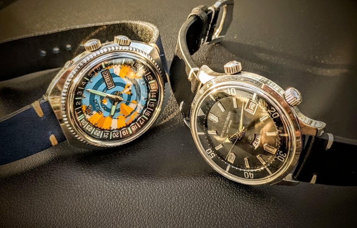Modelele istorice ale ceasurilor Orient