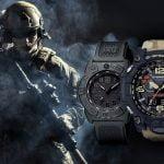 Ceasuri militare Luminox și Casio Mudmaster