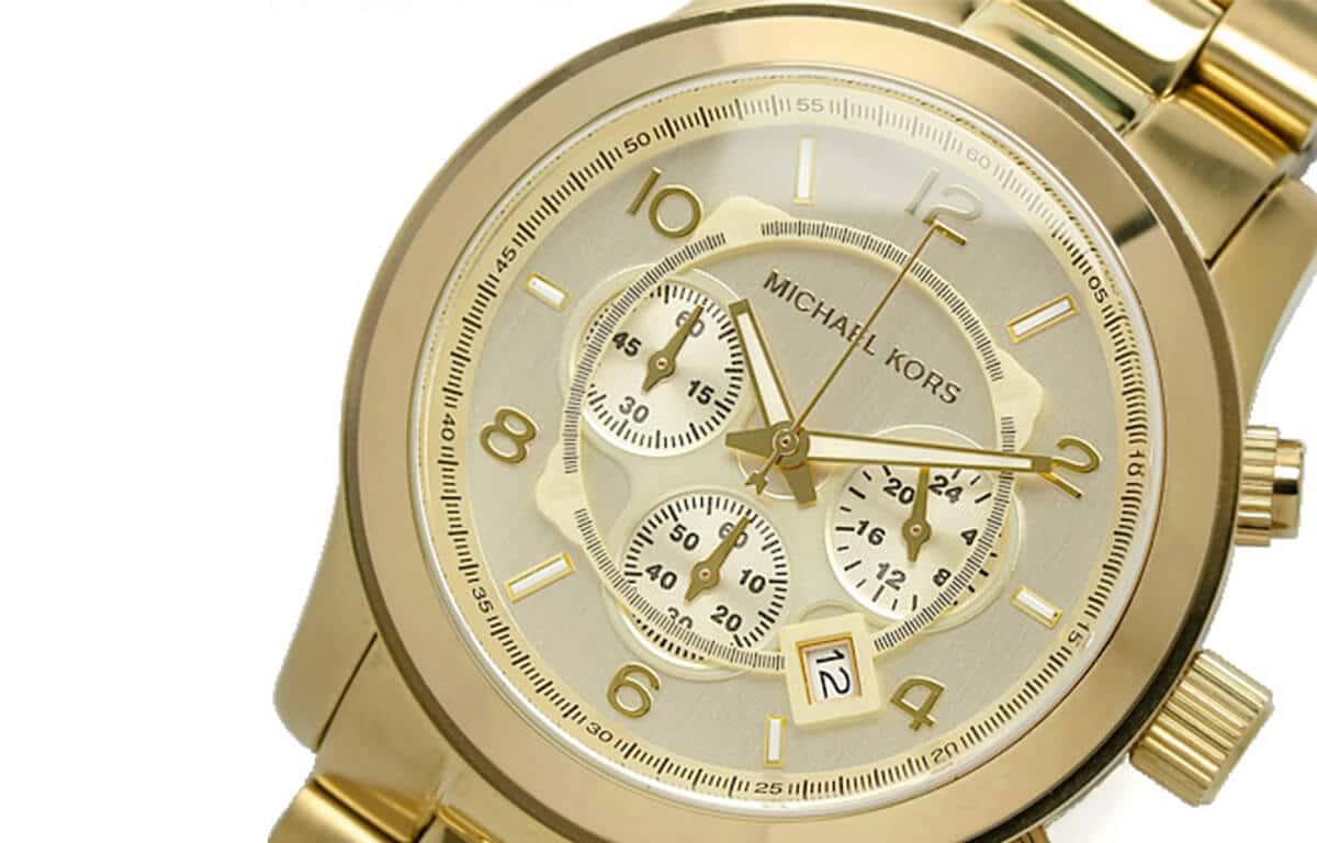 Ceasul masiv auriu pentru bărbați Michael Kors MK8086
