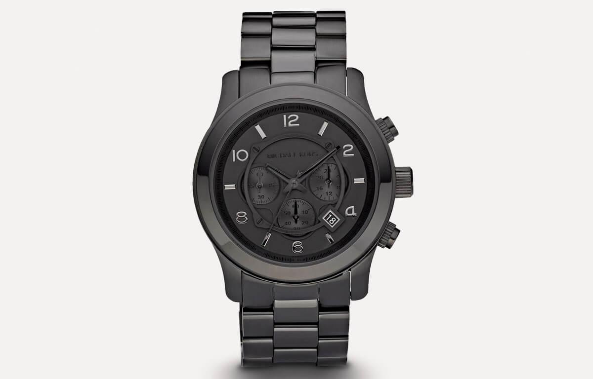 Ceas negru pentru bărbați Michael Kors MK6248