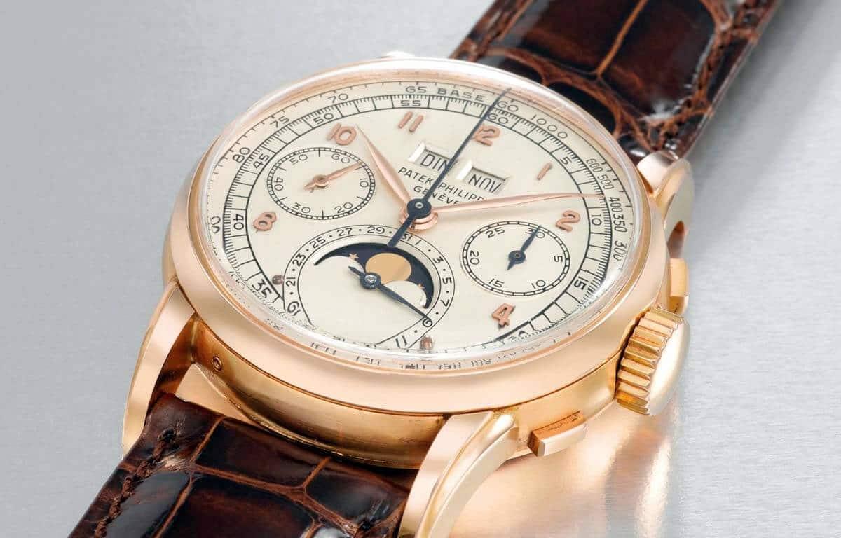 Cel mai ieftin produs printre cele mai scumpe ceasuri din lume - Ceasul Patek Philippe din aur roz