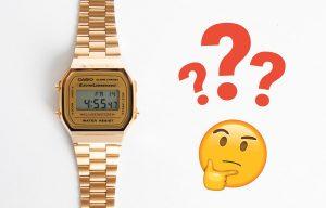 Setarea orei la ceasurile Casio Vintage