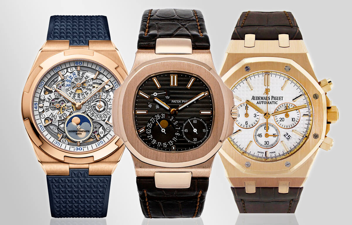 Holy Trinity este denumirea celor mai mari 3 producători de ceasuri din lume