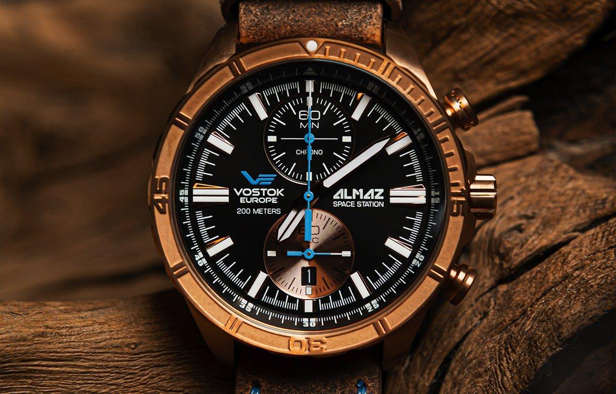 Ceasul Vostok Europe din ediția Almaz Space Edition