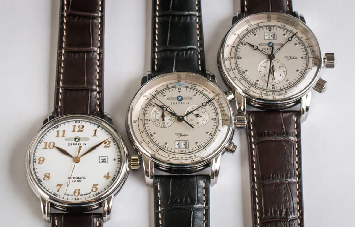 Ceasurile aviator Zeppelin au o istorie bogată asociată cu renumitele dirijabile