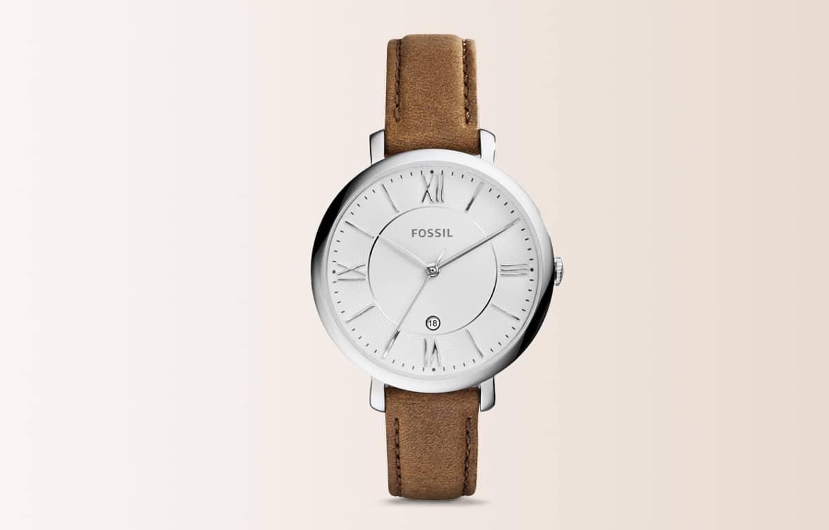 Ceasul de modă Fossil din ediția Jacqueline