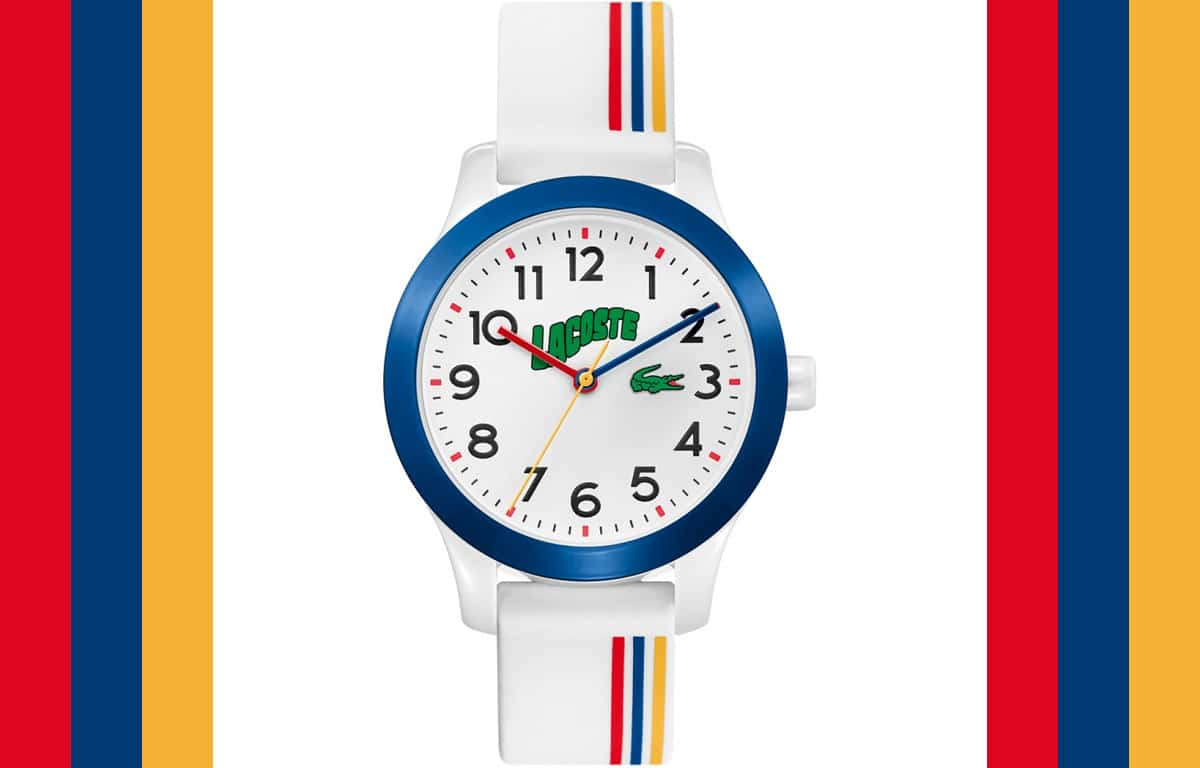 Multicoloratul ceas pentru copii Lacoste