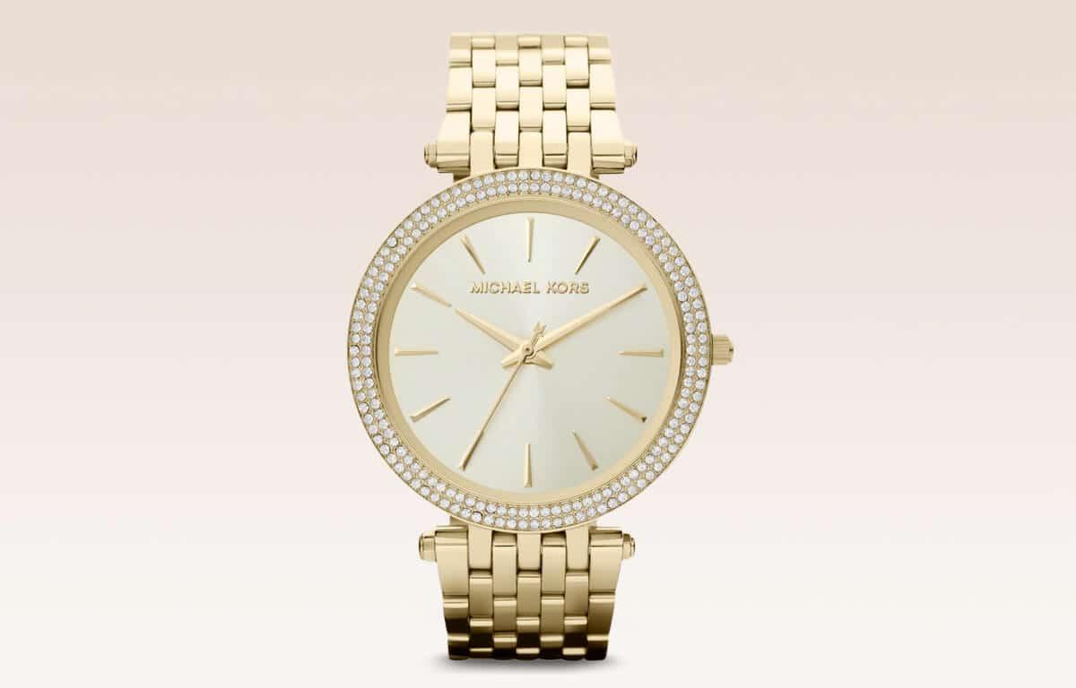 Ceasul auriu de damă Michael Kors MK3190 din ediția Darci