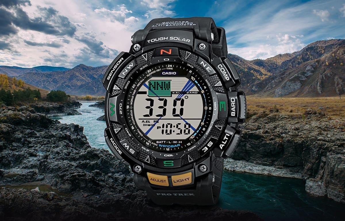 Ceasurile outdoor multifuncționale din ediția Casio Pro Trek