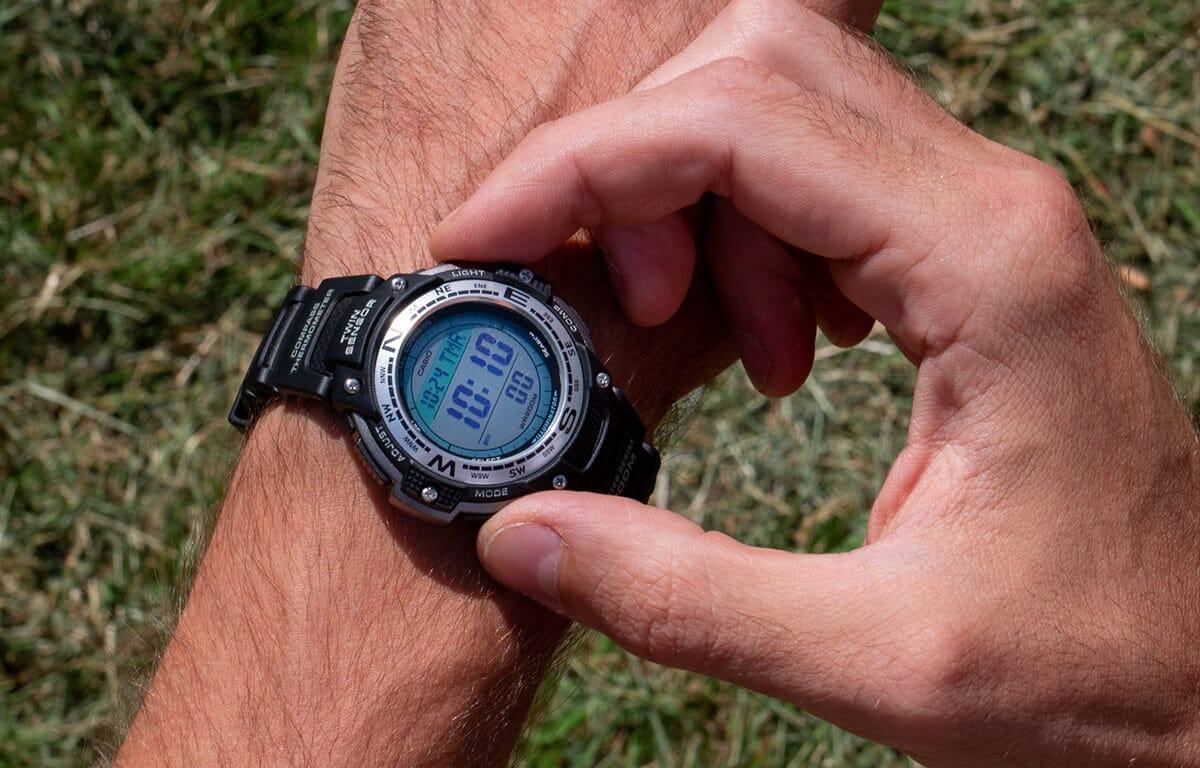 Ceasul ieftin Casio Pro Trek SGW-100-1VEF