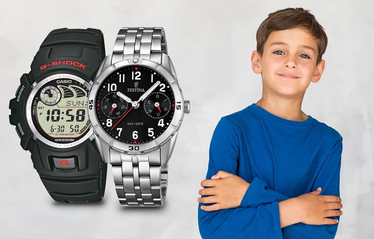 Vă sfătuim în selecția ceasurilor pentru băieți