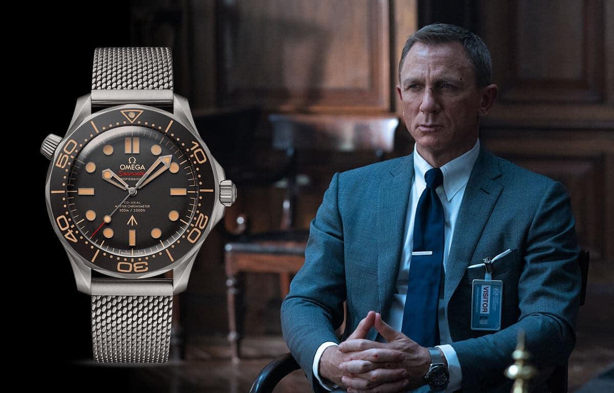 Renumitul ceas pentru bărbați Omega a apărut și în filmele despre agentul James Bondov.