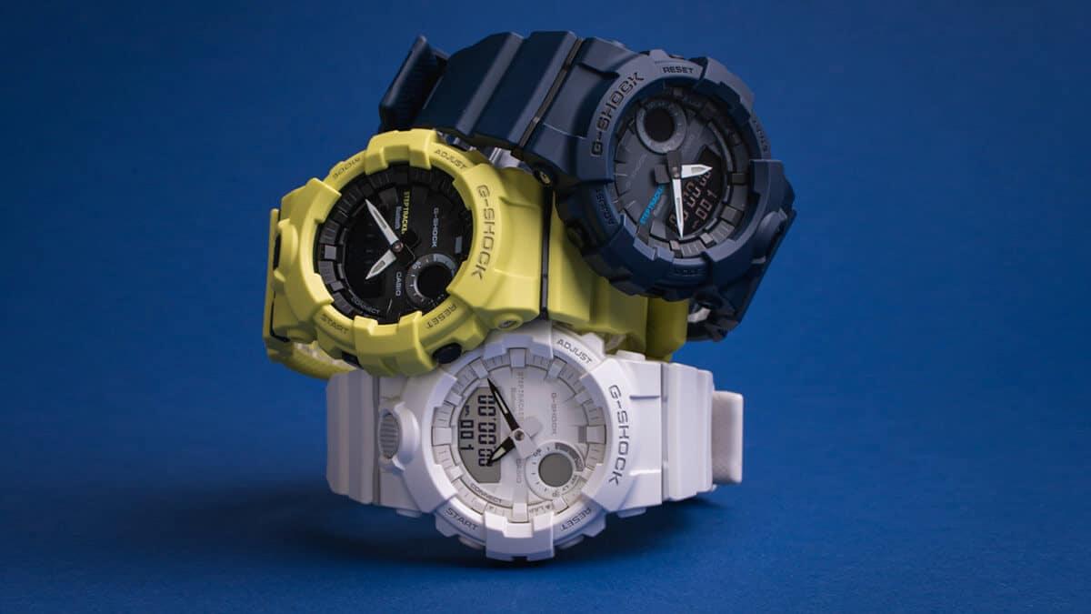 Brandul Casio și modelele sale G-Shock cu curele din cauciuc