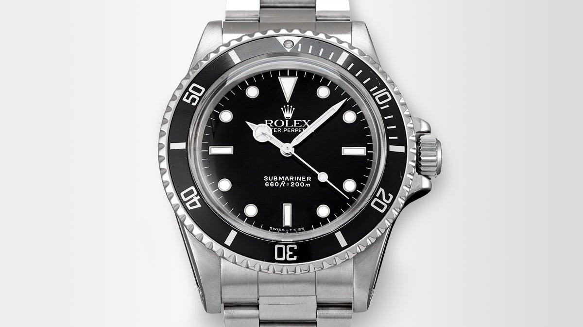 Cunoscuta ediție de ceasuri Rolex - Rolex Submariner