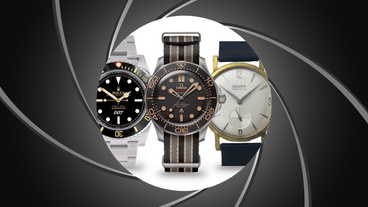 Prezentăm mărci de ceasuri, care au apărut în filmele despre James Bond