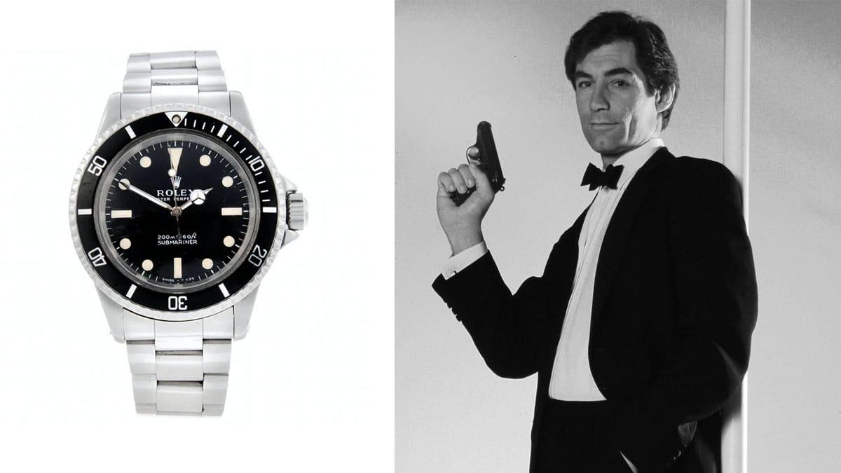 Ceasul James Bond - Rolex Submariner / Timothy Dalton