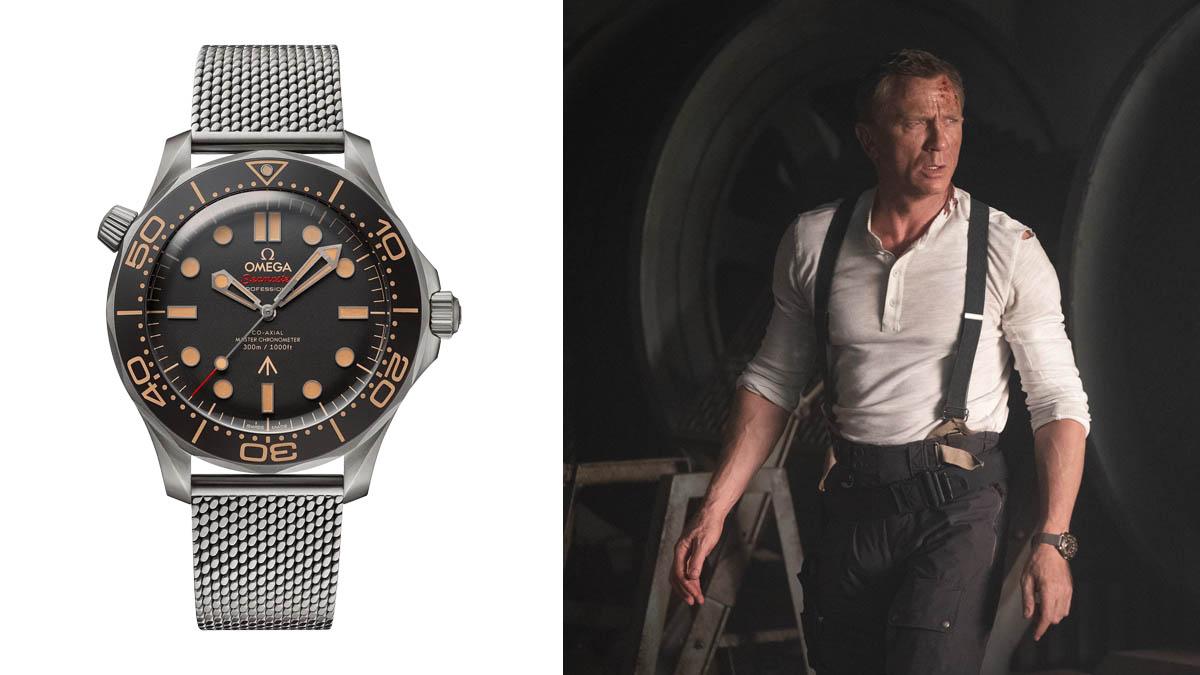 Ceasul James Bond - Omega Seamaster Diver 300M 007 James Bond Watch